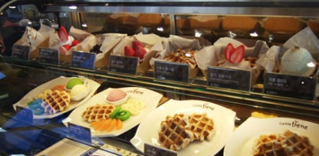 【韓國連鎖】Caffe Bene(카페베네) 鬆餅/咖啡