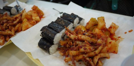 【韓國首爾】明洞 忠武海苔飯卷(충무김밥) 人氣排隊小吃