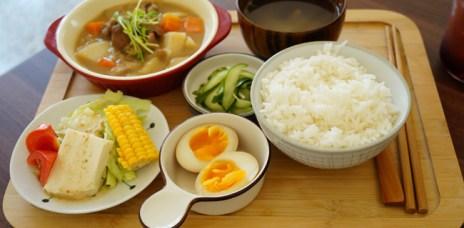 【台中西區】禾豐田食 巷弄老宅裡的日式和風定食