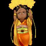 Chibi Aishwarya in Kimono