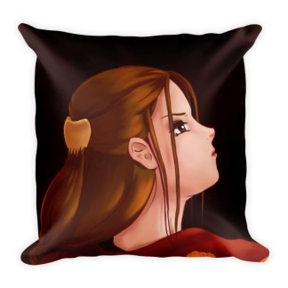 Looking Back - Square Pillow