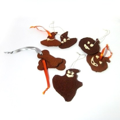 Cinnamon Halloween Ornaments