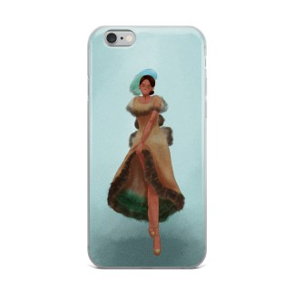 Ciel Catalina Betta Dress iPhone Case