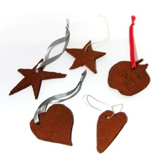 Cinnamon Shape Ornaments