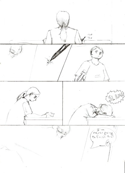 So We're Making a Comic - Pencil 1