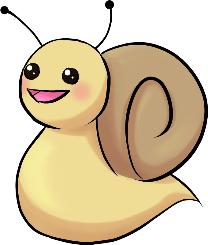 Adorable Chibi Mr. Snail
