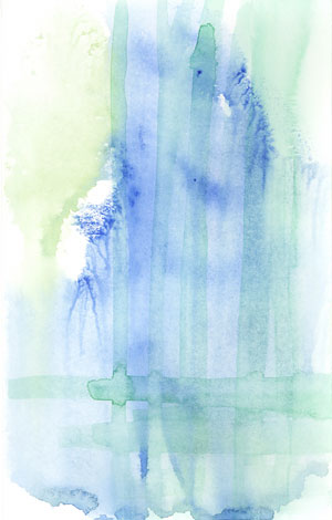 Watercolor painting in 2005