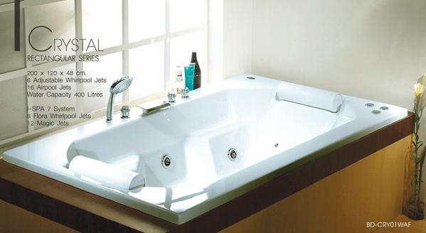 อ่างอาบน้ำแบบฝัง