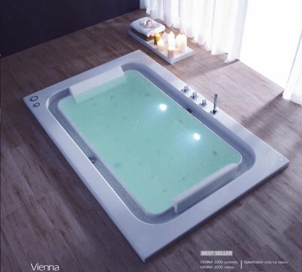 อ่างอาบน้ำแบบฝังรุ่นเวียนนา