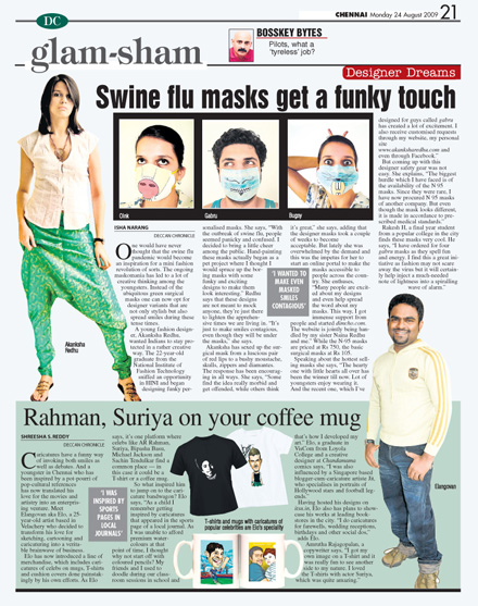 Deccan Chronicle 24th august 09