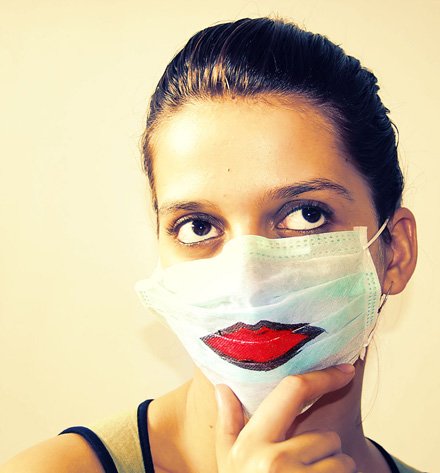 Surgical mask - Kiss Kiss