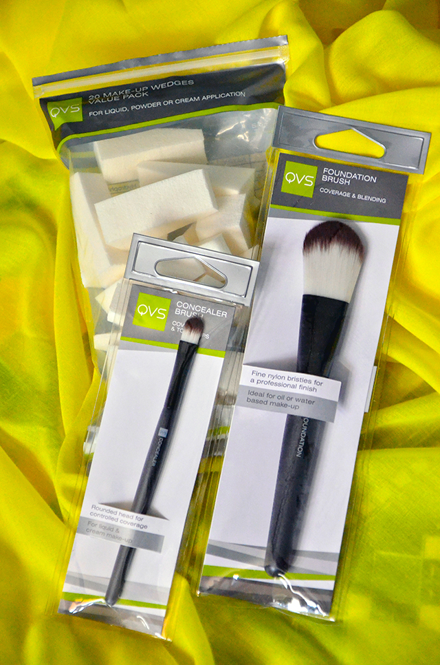 Summer Beauty Loot - QVS Makeup Tools