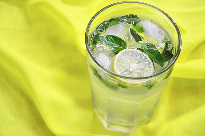 Basil Lemonade - Ready