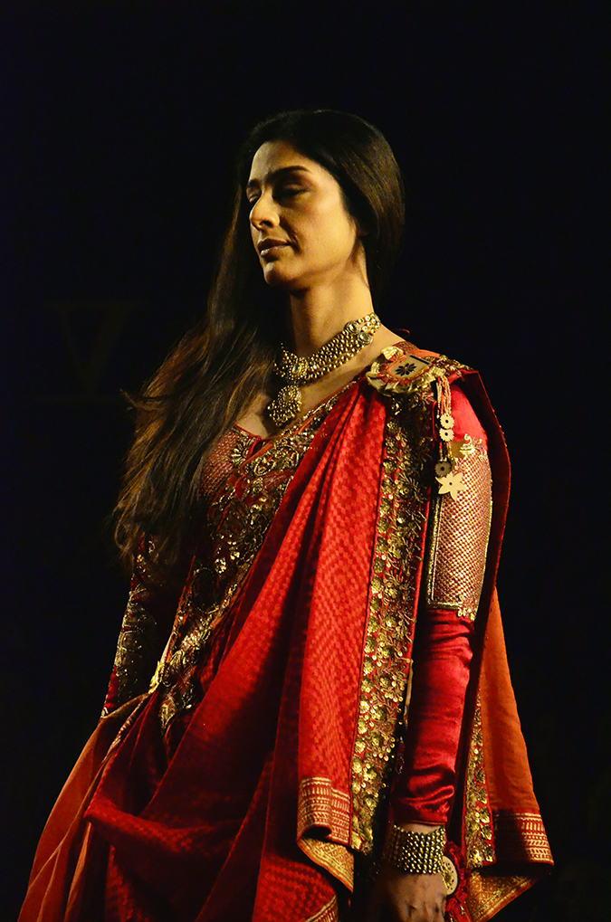 Anju Modi - Delhi Couture Week Tabu