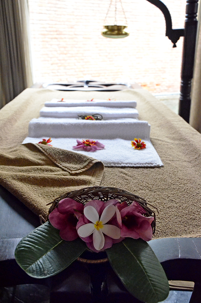 The Spa Getaway - Westin Sohna Resort & Spa - Massage Table