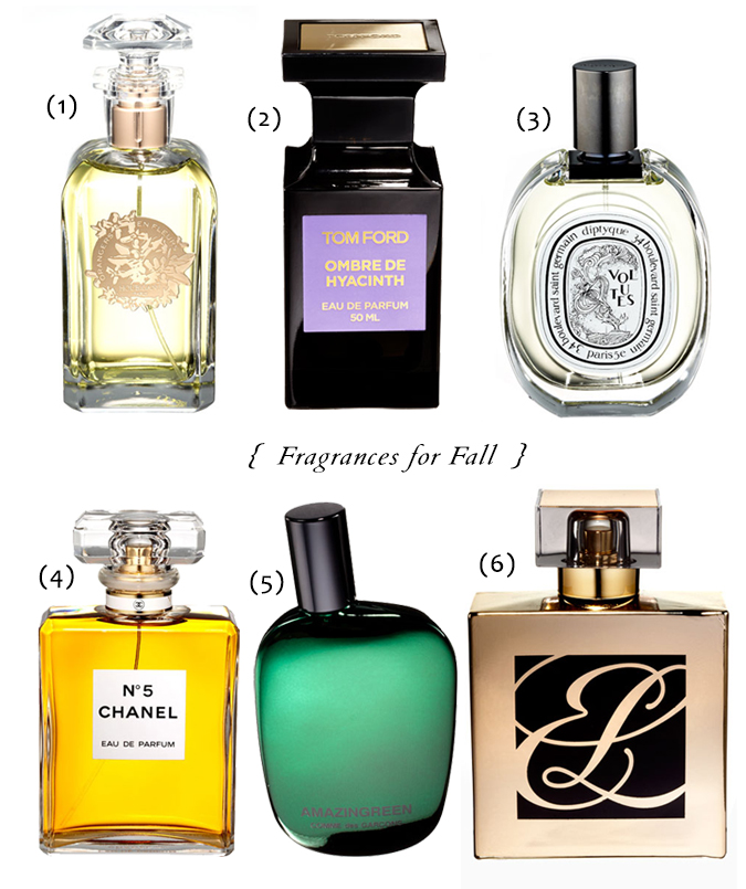 { Fragrances for Fall }