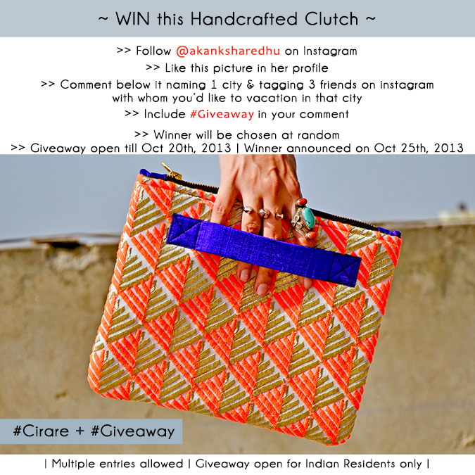 #Giveaway by #CIRARE - #InstaGiveaway