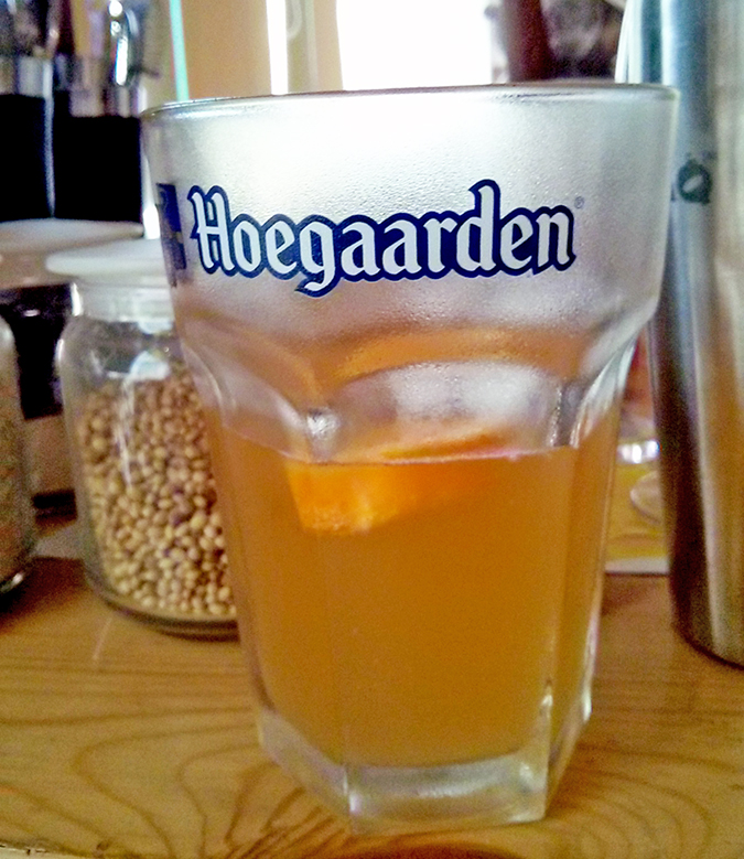 BrewsCruise at The Beer Cafe - Hoegaarden