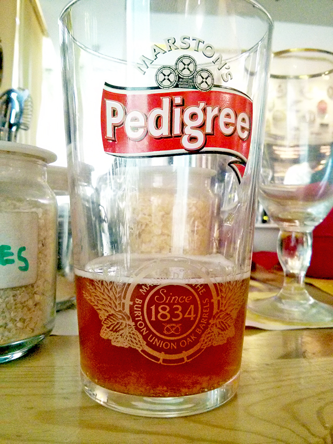 BrewsCruise at The Beer Cafe - Pedigree