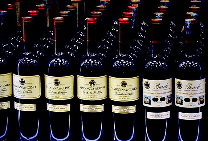 Wine Bottles - Cavalli Caffe Emporio