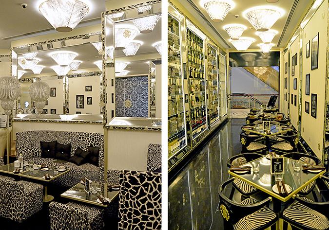 Interiors - Cavalli Caffe Emporio