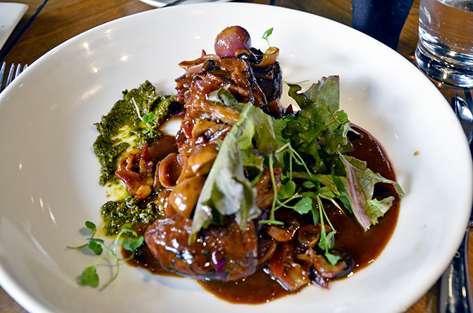 Fio Cookhouse & Bar - Seared Tenderloin Chimicurri | Akanksha Redhu