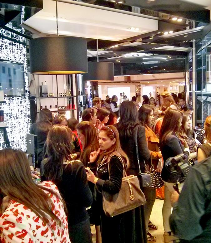 Chanel Beauty - { Store Launch } - People