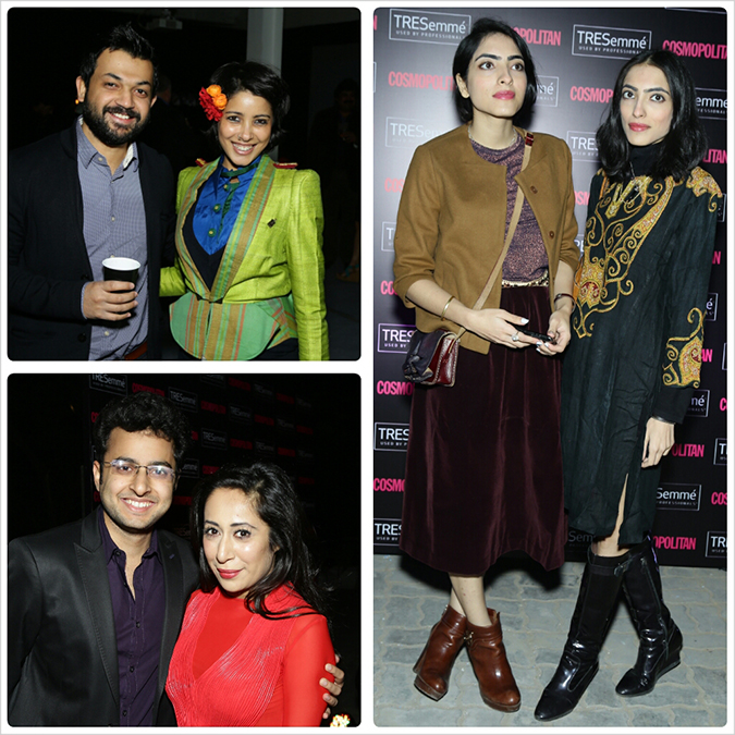 Cosmopolitan & TRESemmé { Backstage Party }   Akanksha Redhu