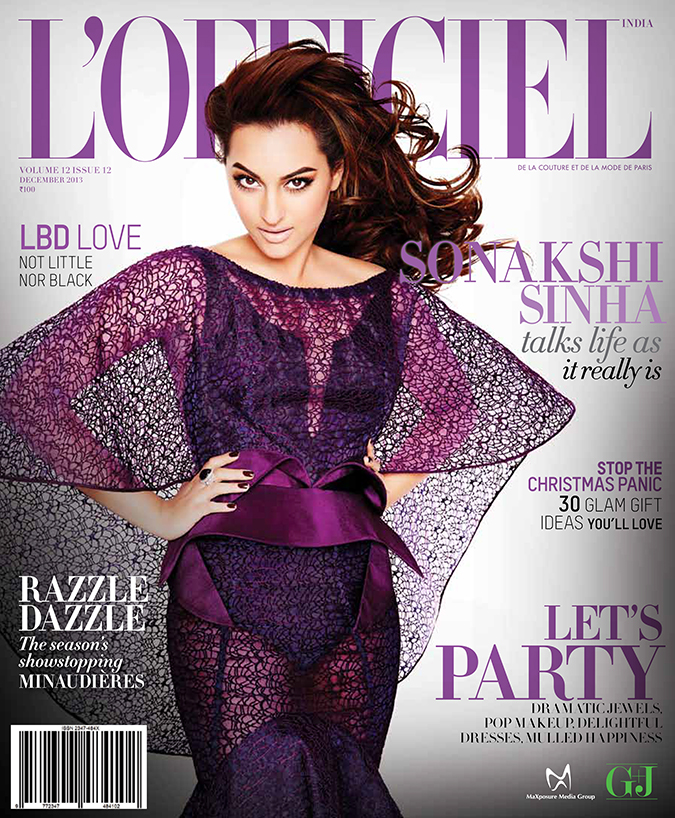 L'Officiel Feature { December 2013 } | www.akanksharedhu.com | Cover