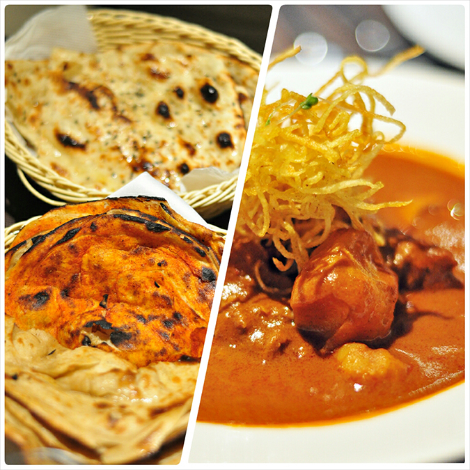 { Made in Punjab } :: Restaurant by Zorawar Kalra | www.akanksharedhu | Indian Breads, Railway Mutton Curry