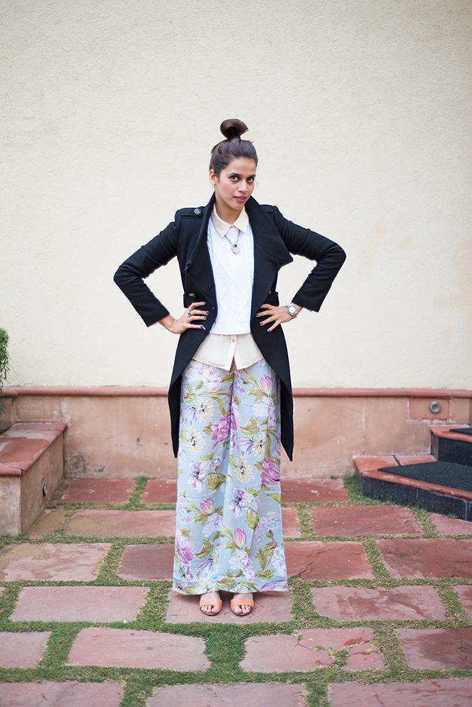 Jaipur | Le Méridien | Day 03 | www.akanksharedhu.com | outfit front full