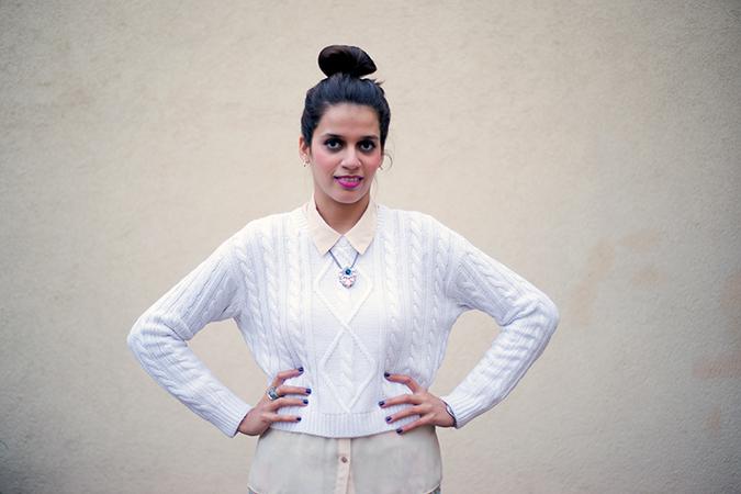 Jaipur | Le Méridien | Day 03 | www.akanksharedhu.com | outfit mid with bun