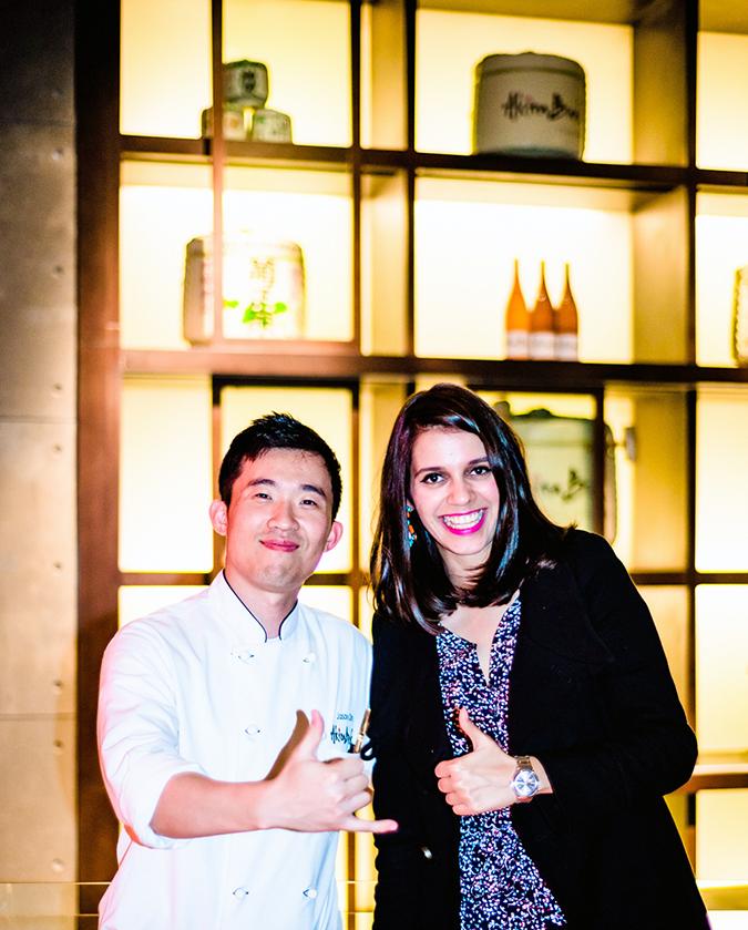 { Akira Back } :: JW Marriott   www.akanksharedhu.com   With Chef Jason