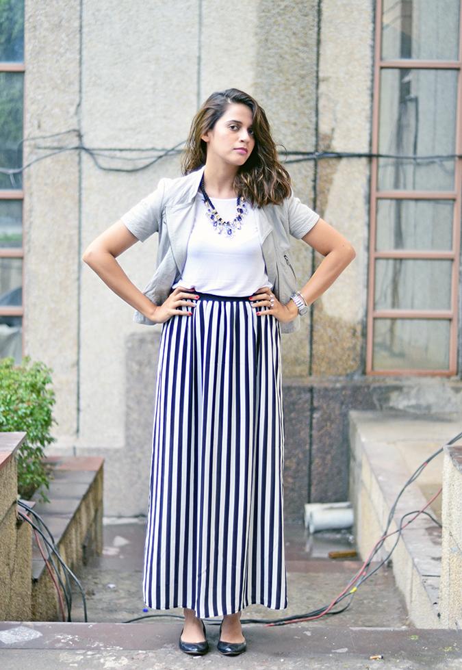 Wear Your Stripes   www.akanksharedhu.com   Front full