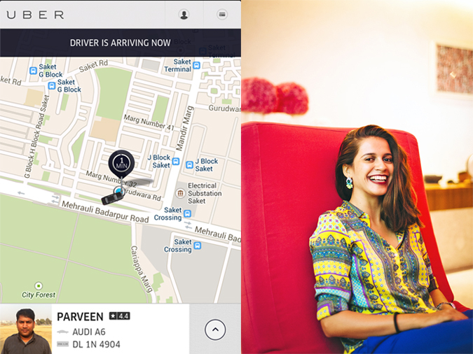 Uber - ing in Delhi | www.akanksharedhu.com | #RideInStyle | waiting
