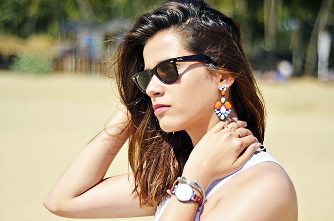 Agonda Beach | Goa | www.akanksharedhu.com | earrings