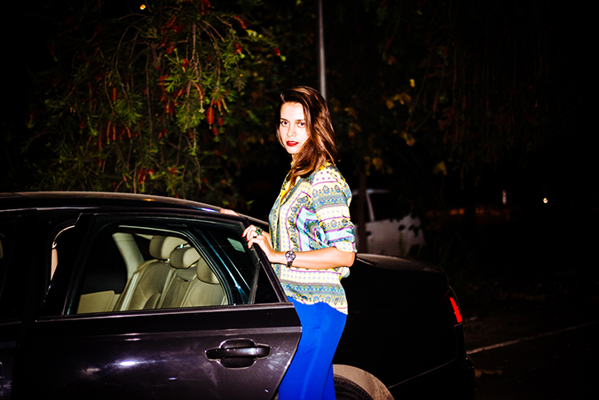 Uber - ing in Delhi | www.akanksharedhu.com | #RideInStyle | Getting in the car
