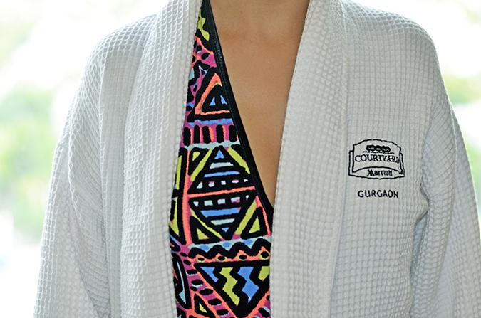 Weekend Getaway   Courtyard Marriott Gurgaon   in robe