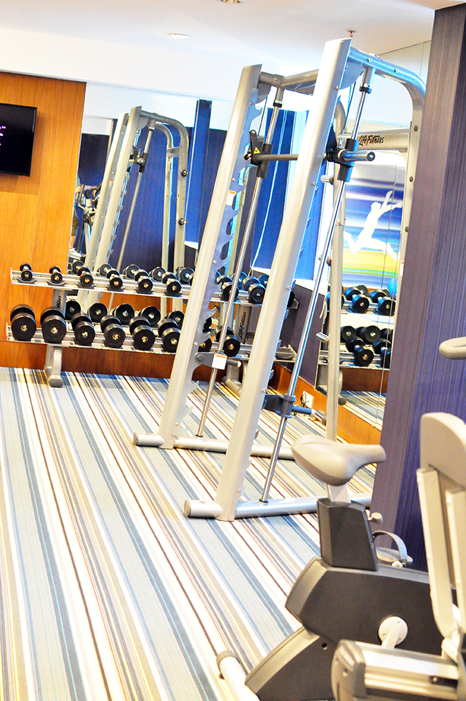 Aloft Hotels | www.akanksharedhu.com | gym