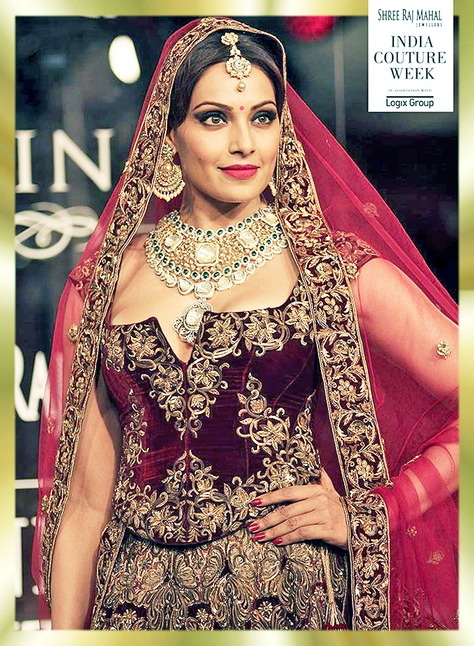India Couture Week 2014 | Shree Raj Mahal Jewellers | ICW2014 | Bipasha single