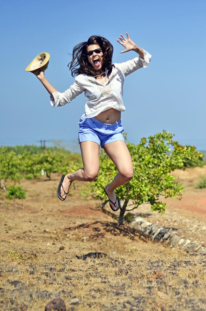Gokarna | www.akanksharedhu.com | jump