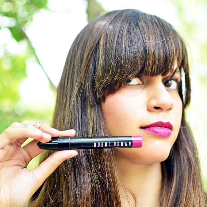 Bobbi Brown | Art Stick | www.akanksharedhu.com | with lips