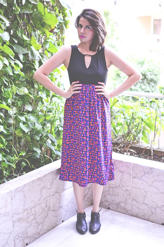 Of Midi Dresses | Femella | www.akanksharedhu.com | full front