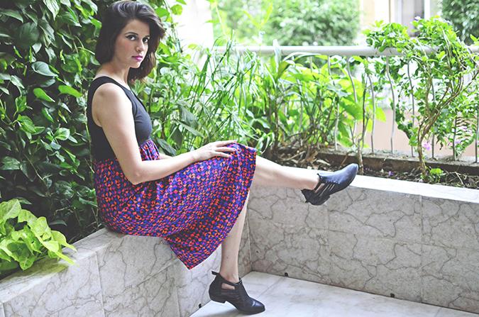 Of Midi Dresses | Femella | www.akanksharedhu.com | sitting