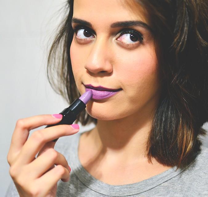 Inglot Matte Lipsticks | www.akanksharedhu.com | candy purple