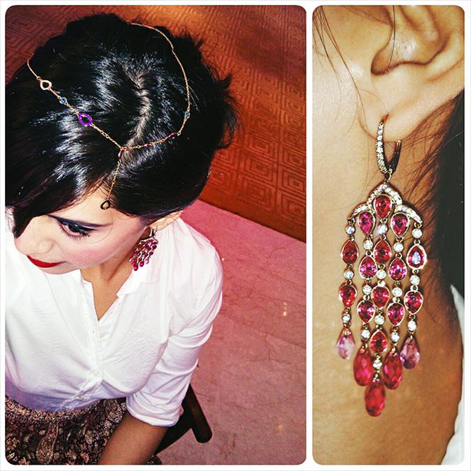 Swarovski | #StyleYourWayToParis | www.akanksharedhu.com | festive details