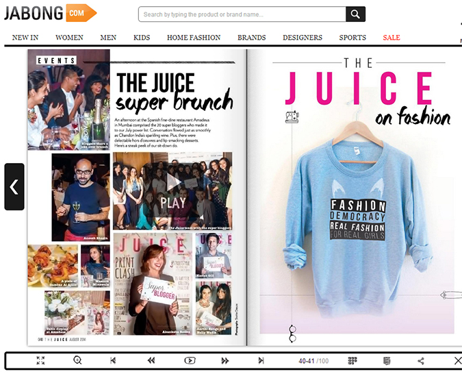 The Juice by Jabong { August 2014 } | www.akanksharedhu.com | brunch spread