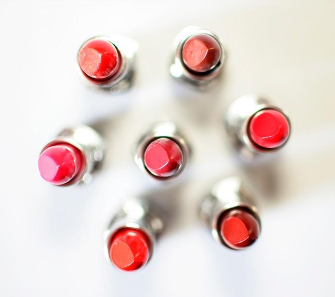 Avon India | www.akanksharedhu.com | tops of lipsticks