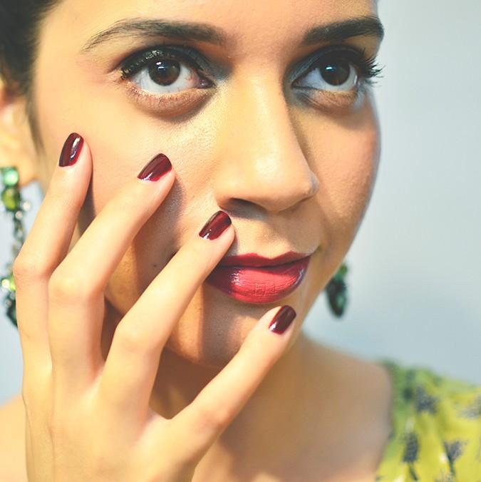 Avon India | www.akanksharedhu.com | nails and lips together