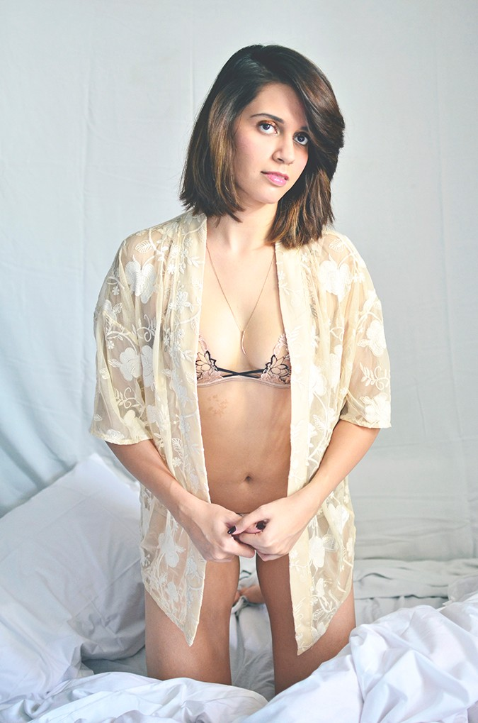 Off Days | Agent Provocateur | front fill with kimono